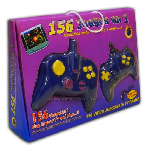 156 in 1 Hand Held Game Controller