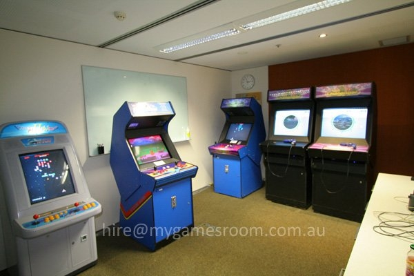 melbourne arcade machines