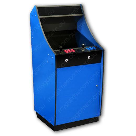 Merveilleux Lowboy Flat Pack Cabinet (Blue)